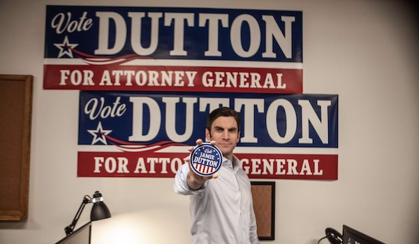 YELLOWSTONE: Season 2 TV Spot: The Duttons Want You to 'Vote NO on Jamie Dutton' [Paramount Network]
